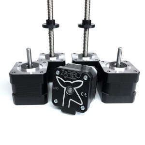 Nema 17 stepper motor kit for prusa zaribo cartesian 3d printers