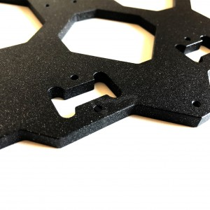 Y Carriage for Heated Bed MK52 compatible with Zaribo / Prusa / Bear / Switchwire