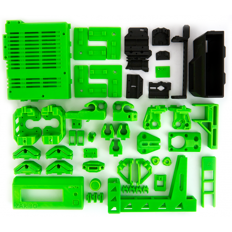 Zaribo Printed Parts MK3 Rel 3