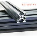 Black Zaribo Misumi Aluminium Extrusion Kit