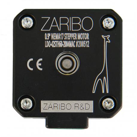 Zaribo 0.60 Nm 0.9 Degree Stepper Motor| LDO-42STH60-MAC