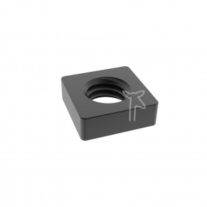 Black Square Nut High...