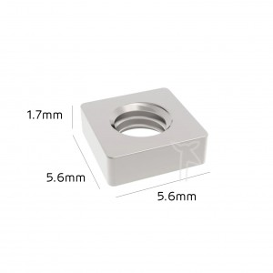 Square Nuts High Quality DIN 562 Stainless Steel