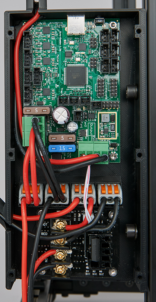 Wiring of the MOSFET inside the Rambo-box