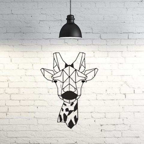 3D Giraffe Wall Art