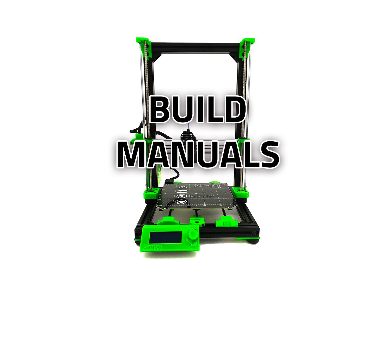 Zaribo 3D Printers Build Guides PDF