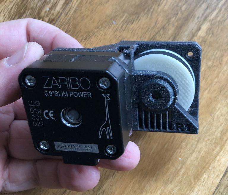Zaribo Geared Extruder (no firmware)