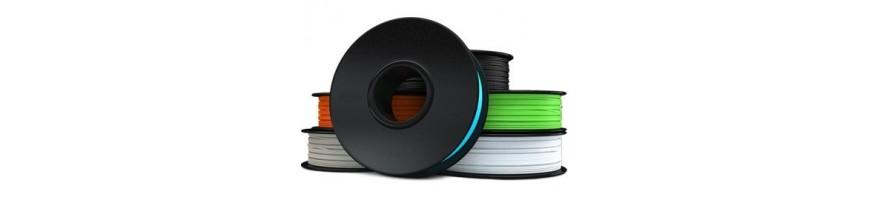 ABS, ABS-T, PLA, PETG, HIPS, PC-ABS, PMMA, PVA, RUBBERJET, SOFTJET, CF-JET Filaments