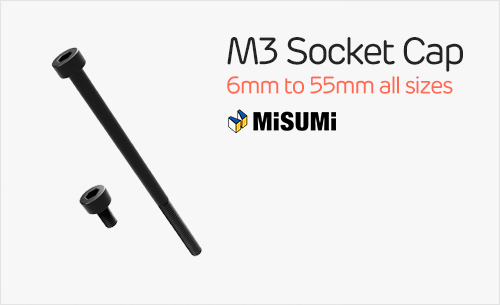 Misumi M3 Socket Cap Hex Screws